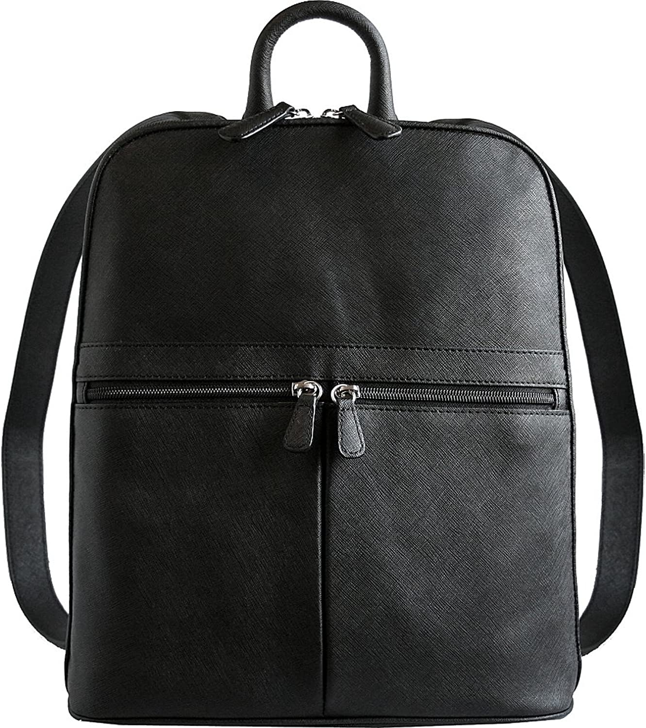 Belarno Women's B127 Leather Slim and Lightweight Backpack