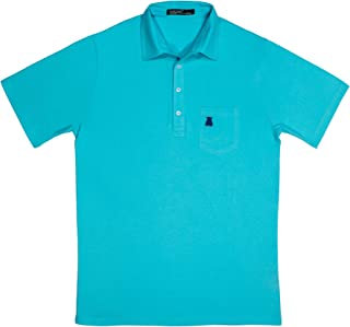 Soft Cotton Pocket Polo 4 Button - Golf, Hiking, Dinner, Beach, Tennis, Summer, Spring - Breathable and Perfect