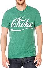 Interstate Apparel Inc Men's Enjoy A Choke Green Tri Blend T-Shirt C2