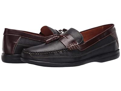 Johnston & Murphy Locklin Tassel (Black Full Grain) Men