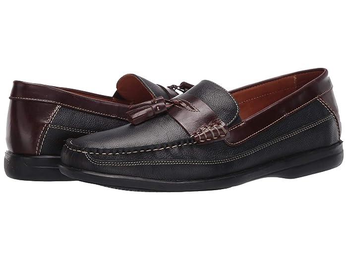 Johnston and Murphy  Locklin Tassel (Black Full Grain) Mens Shoes