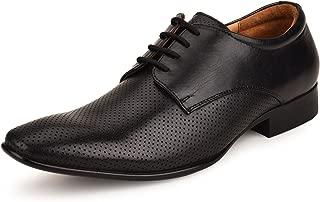 Escaro Everyday Wear Men's Genuine Leather Formal Derby Shoes