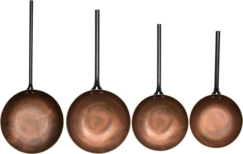 Creative Co-Op Metal Forged Handles Regular dealer Super popular specialty store 4 Copper Spoon Set of
