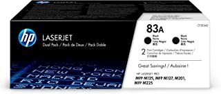 HP 83A | CF283AD | 2 Toner Cartridges | Black