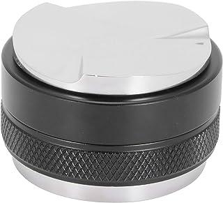 Ladieshow51mmコーヒーディストリビューター3つの角度付きスロープダブルヘッド調節可能な高さコーヒータンパー食器洗い機洗える
