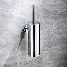 Jkckha Premier Housewares Stainless Steel - RVS 304 toiletborstelgarnituur badkamer toiletborstelhouder wc-borstel set Geb...