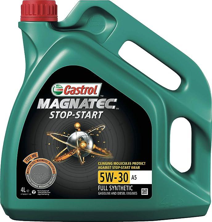 Olio motore castrol magnatec stop & start  4 litri 5w-30 a5 q3 lubrificante auto 159B99