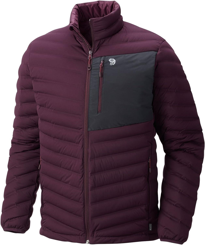 Mountain Hardwear New Men's StretchDown Jacket, Dark Tannin, Medium
