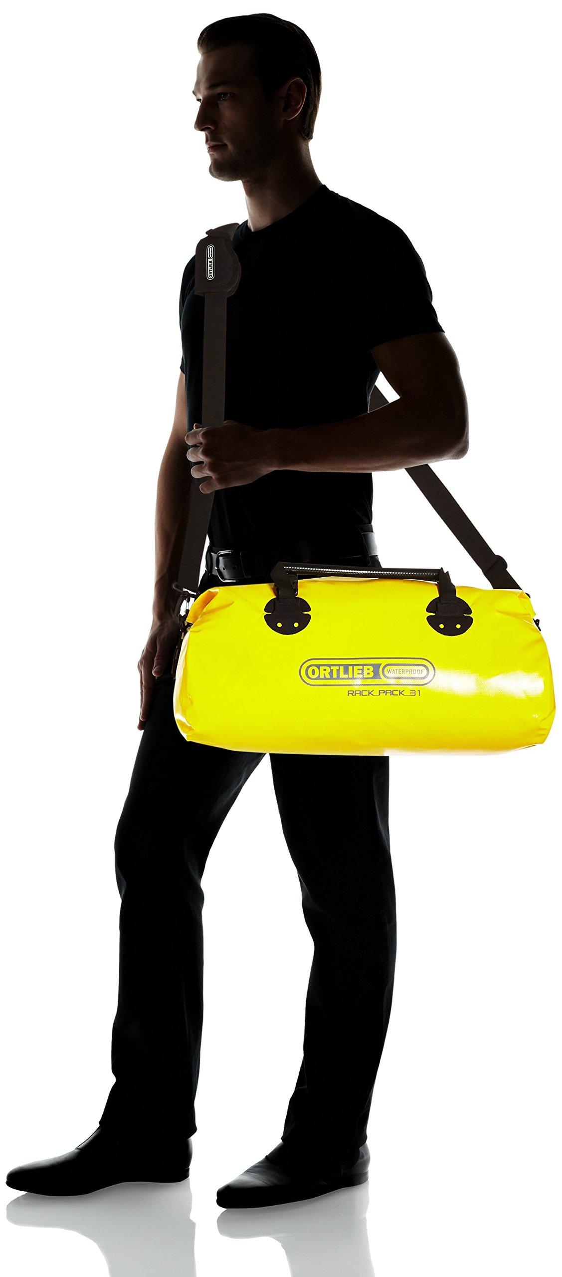 Ortlieb - Bolsa de Deporte (34 x 61 x 32 cm) Amarillo Amarillo Talla:34x61x32: Amazon.es: Deportes y aire libre