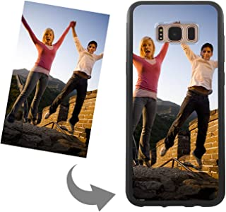 Make Your Own Phone Case - Personalized Photo,Text,Logo Back Cover Case for Samsung Galaxy S8 Plus,Custom Birthday Xmas Valentines Gift for Her and Him