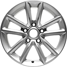 Partsynergy Replacement For New Aluminum Alloy Wheel Rim 17 Inch Fits 2011-2018 Dodge Grand Caravan 5-127mm 10 Spokes
