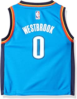 NBA Oklahoma City Thunder Toddler Outerstuff Replica Road Player Jersey, Russell Westbrook, 3T