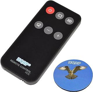 HQRP Remote Control Compatible with Klipsch R-10B, R-20B, ICON SB-1, Theater SB-3, CS-30 1015073 Soundbar Speaker System Controller