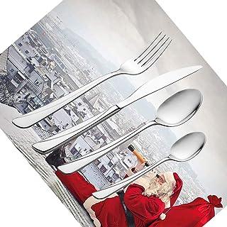 11CM Kentop 20pcs Elegante de Yute de Cord/ón Cubiertos Holder Bolsa Vajilla Decoraci/ón de la Boda Navidad,21
