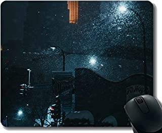 Personalized Mouse Pad,Building Architecture River Reflection Gaming Mousepad
