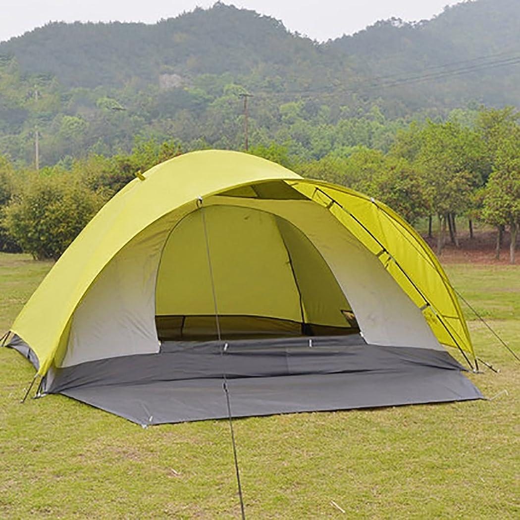 バリケード前兆触手HAIPENG 3-4人アウトドアレジャー登山キャンプ用品テントダブル防雨防風シーズンズテント(のL * Wの*のH):200 * 240 * 130センチメートル