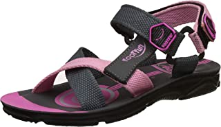 Footfun (from Liberty) Boys KD-08 Pink Floaters and Sandals - 10.5 UK
