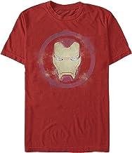 Marvel Men's Avengers: Endgame Smudged Iron Man T-Shirt