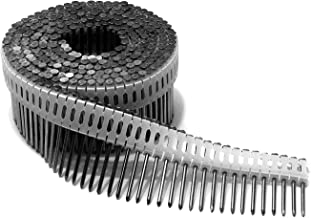 Duo Fast CS178HDG 1-7/8-Inch x .086 Ring Shank HDG 0 Degree Plastic Collated Coil Nails, 3600 Count