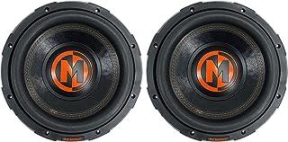 """$399 » (2) Memphis Audio MJP1022 10"""" 1500w MOJO Pro Car Audio Subwoofers DVC 2 ohm Subs"""