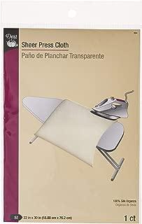 Dritz 594 Sheer Press Cloth, 22 x 30-Inch