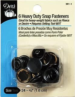 Dritz PRY-981-1 Heavy Duty Snap Fasteners, 24-5/8