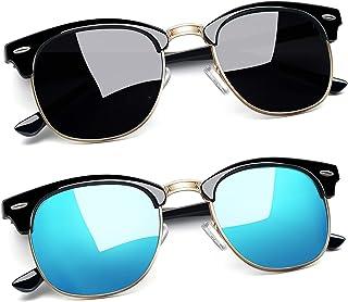 Sponsored Ad - Joopin Polarized Semi Rimless Sunglasses Women Men Brand Sun Glasses UV Protection