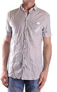 Luxury Fashion Mens MCBI29310 Grey Shirt   Season Outlet