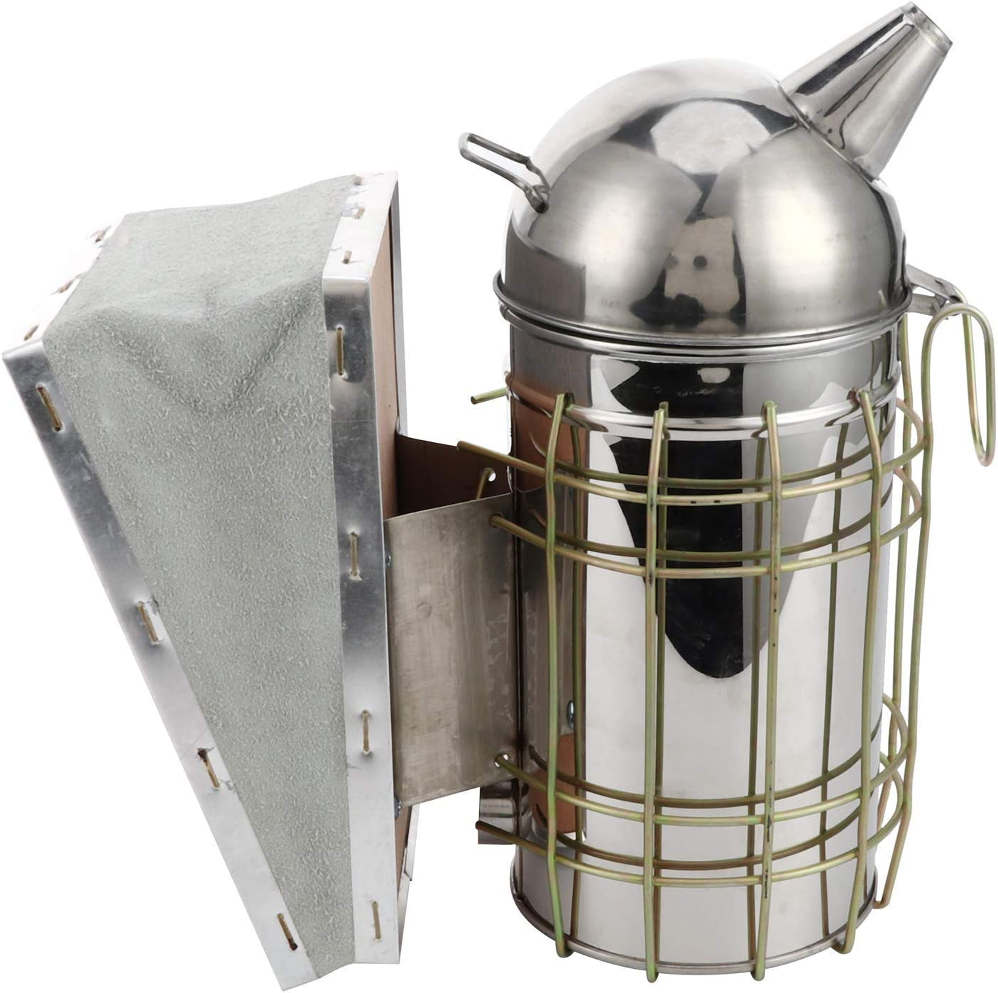 Eujgoov Bargain Bee Courier shipping free Smoker Apiculture Beekeeping Stainle Tool