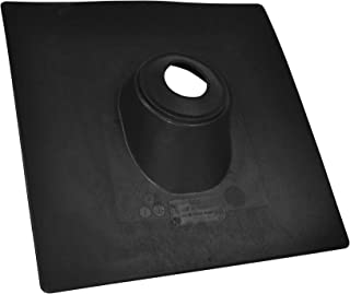 Oatey 11888 No- Calk Roof Flashing, W X 18 in L, Thermoplastic, 2-Inch