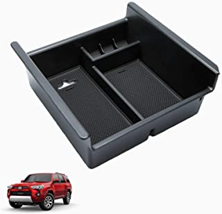 Vemote Center Console Organizer for Toyota 4Runner 2010-2021, Insert Armrest Storage Box Tray 4 Runner Car Interior Accessories