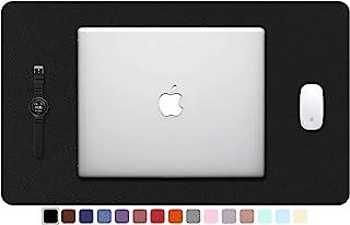"TOWWI PU Leather Desk Pad with Suede Base, Multi-Color Non-Slip Mouse Pad, 24"" x 14"" Waterproof Desk Writing Mat, Large De..."