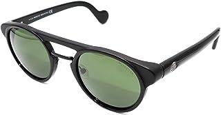 Sunglasses Moncler ML 0019 01N shiny black/green