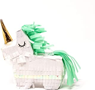 Party Partners 8270.0001 Mini Piñata Party Favor, 3.75-Inch, Unicorn