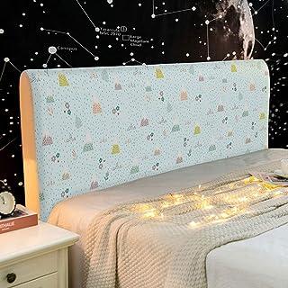 NHK-MX Funda de cabecero de Cama elástica para Dormitorio Infantil Lindo decoración de Dormitorio Protectora de cabecera de Cama 120-220cm (Color : 15, Size : 200cm)