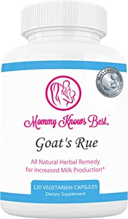 Goats Rue Lactation Aid Support Supplement for Breastfeeding Mothers - 120 Vegetarian Capsules (1)