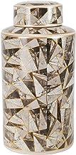 وعاء سيراميك 14755-02 من سيج بروك هوم 16 بوصة، تجريدية، متعدد