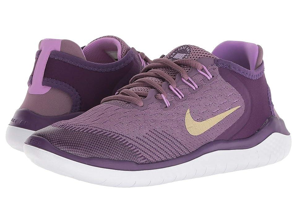 Nike Kids Free RN 2018 (Big Kid) (Violet Dust/Metallic Gold Star/Night Purple) Girls Shoes
