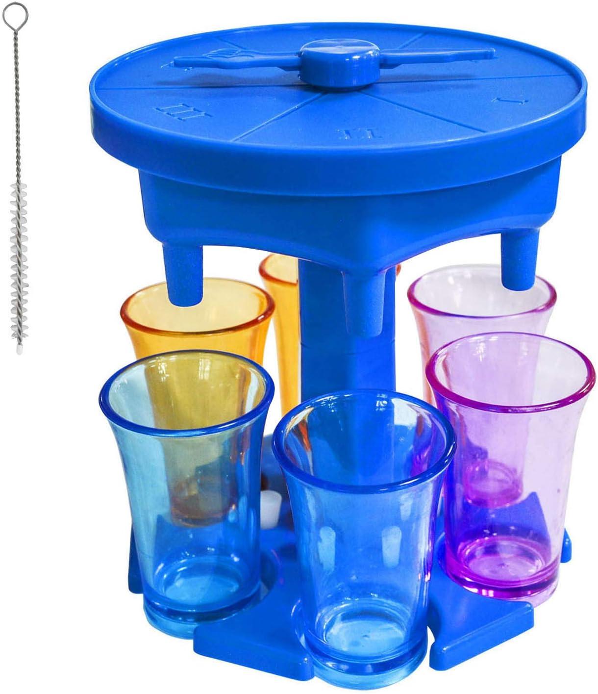 SDLAJOLLA Omaha Mall Glass Dispenser and Holder - Turn Sale Carrier Game
