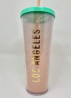 Starbucks Los Angeles 24 oz Venti Cold Cup Traveler Tumbler