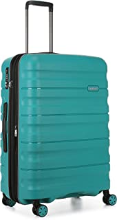 Antler Juno 2 4W Medium Roller Suitcase Hardside, Teal, 68cm