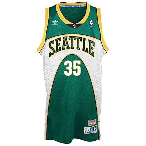 2b0a76465 Kevin Durant Seattle Supersonics Adidas NBA Throwback Swingman Green Jersey  (X-Large)