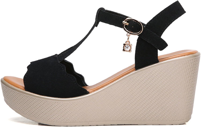 Twinkle UU 2018 Women Wedge Sandals Ladies High Heels Female Summer shoes