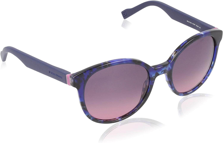 Boss orange Preppy Round Sunglasses in Havana bluee BO 0175 S K1S 53 53 Grey Cherry Gradient