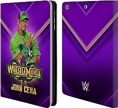 Official WWE John Cena Wrestlemania 34 Superstars Leather Book Wallet Case Cover Compatible for iPad Mini 1 / Mini 2 / Mini 3