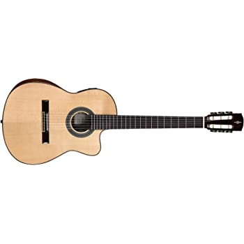 Ortega RCE131SN - Guitarra clásica (cedro y caoba, tamaño 4/4 ...