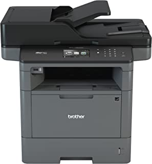 Brother Monochrome Laser Printer, Multifunction Printer, All-in-One Printer, MFC-L5800DW, Wireless Networking, Mobile Printing & Scanning, Duplex Printing, Amazon Dash Replenishment Enabled
