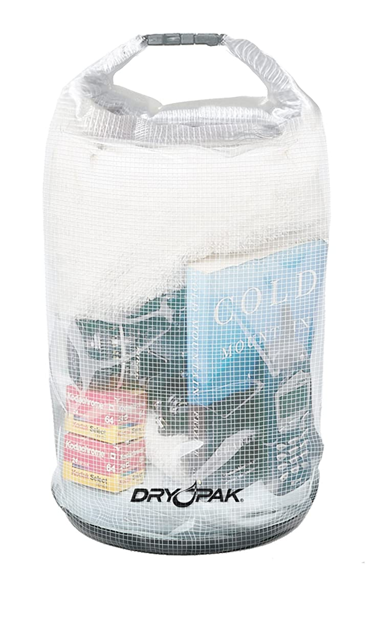 Dry Pak Roll Top Dry Gear Bag (Clear) - 12-1/2