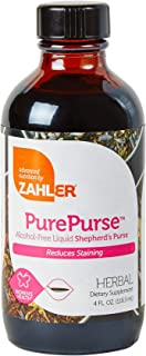 Zahler PurePurse, Liquid Sheperd'S Purse which Helps Reduce staining, All Natural Liquid Menstrual Support Formula, Certif...
