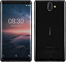 Nokia 8 Sirocco TA-1005 Single Sim - 128GB/6GB - Android One - Factory Unlocked GSM - International Version - No Warranty in The US - Black